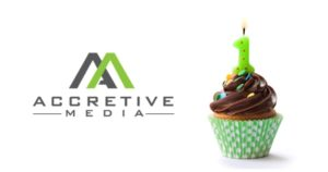 Happy Birthday, Accretive Media!!!