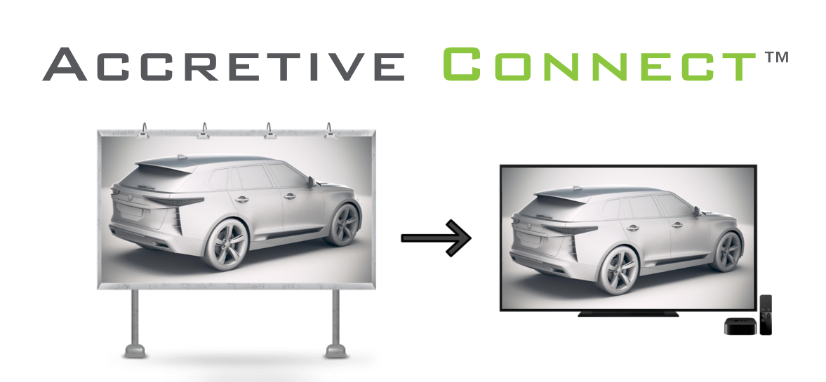 Accretive Media Unveils Industry's First Advertising Solution that Extends the Power of Out-of-Home into the Living Room