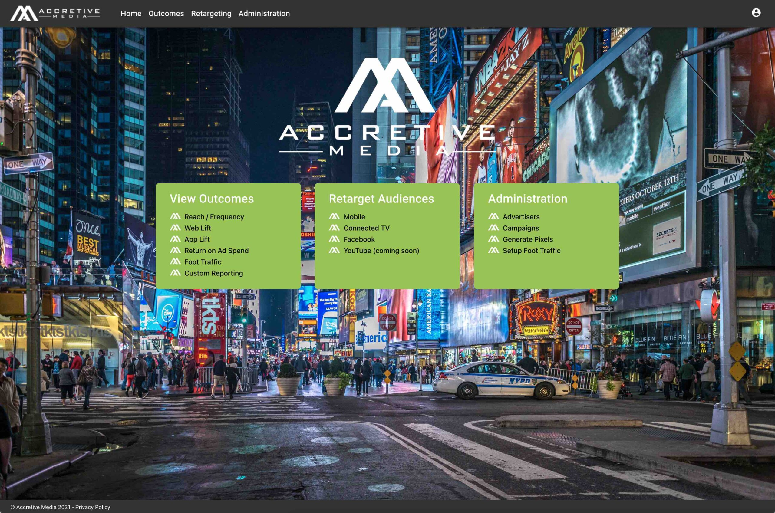 Accretive Media launches Accretive Outcomes™ automated measurement purpose-built for the out-of-home channel